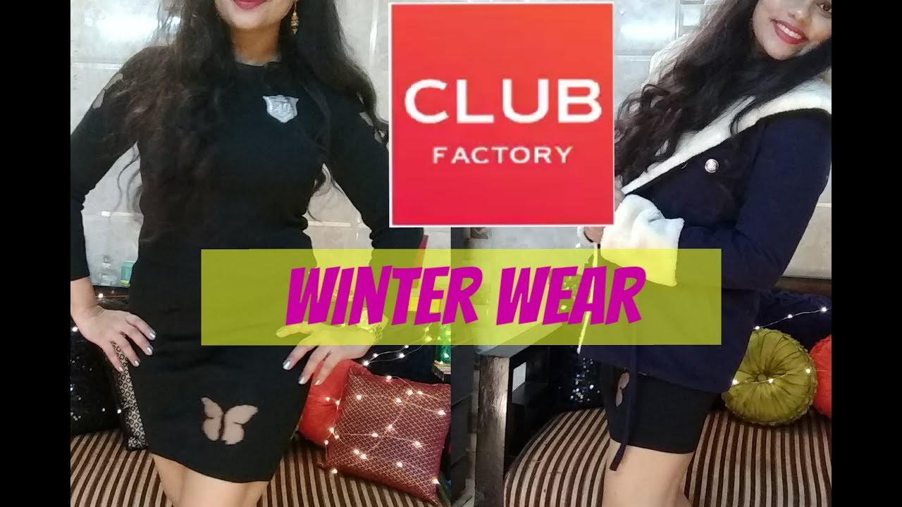 2bd5b47a4 CLUB FACTORY WINTER WEAR HAUL