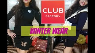 CLUB FACTORY WINTER WEAR HAUL |TheLifeSheLoved| Sana K