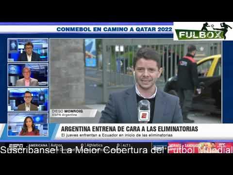 Argentina vs. Ecuador - Previa al Partido - 8 octubre, 2020 - ESPN