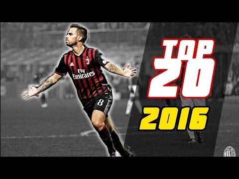 AC.Milan - TOP 20 GOALS 2016