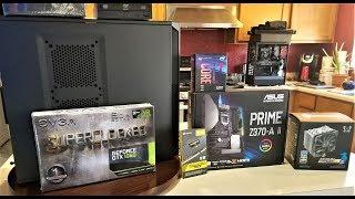 PC BUILD - i7-8700k, Asus Prime Z370-A II, Mugen 5, GTX 1060, EVGA PSU, Corsair Vengeance DDR4