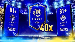 40X 81+ & 100X 3 Player LIGUE 1 Upgrade Packs! - FIFA 19 Ultimate Team
