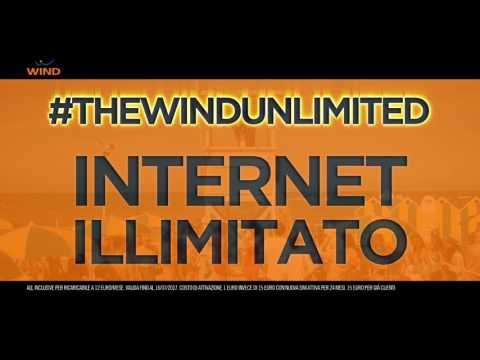 Con WIND internet è ILLIMITATO!