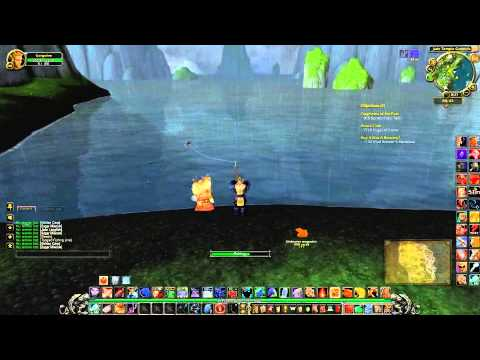 World of Warcraft: Fishing with Scenery