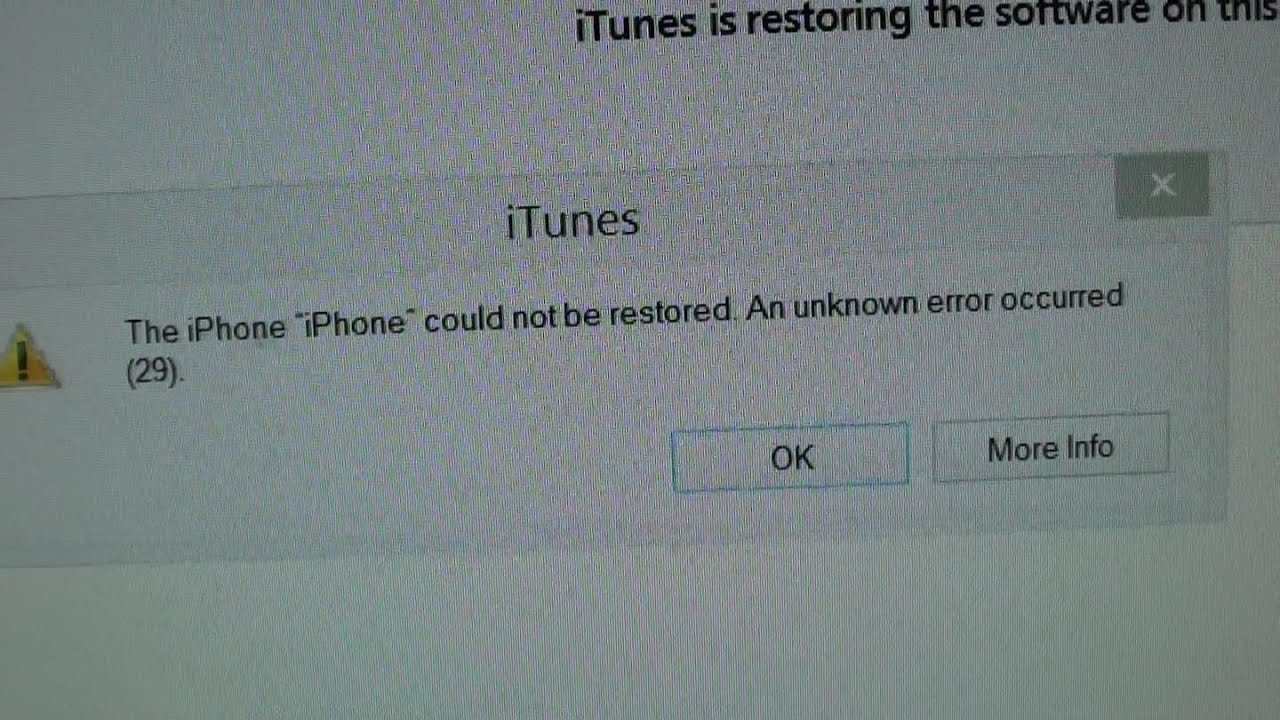 iphone could not be restored iphone 4s fix iphone could not be restored error 17634