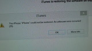 iphone 4s fix iphone could not be restored error occurred 29 in itunes