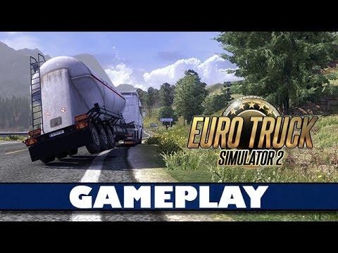 Euro Truck Simulator 2 - Le cascadeur de l'extrême !