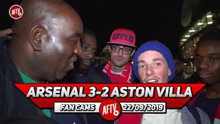 Arsenal 3-2 Aston Villa | Guendouzi Should Be Captain!! (Fans Roundup)