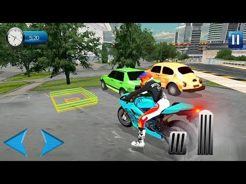 Extreme motorbike racing and parking adventure (by Entertainment Riders) Android Gameplay [HD]