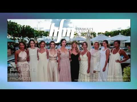 Hawaii Fashion Month 2015 - Melissa White and Toby Portner