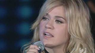 Repeat youtube video Kelly Clarkson - Because Of You (Live Oprah Winfrey Show)
