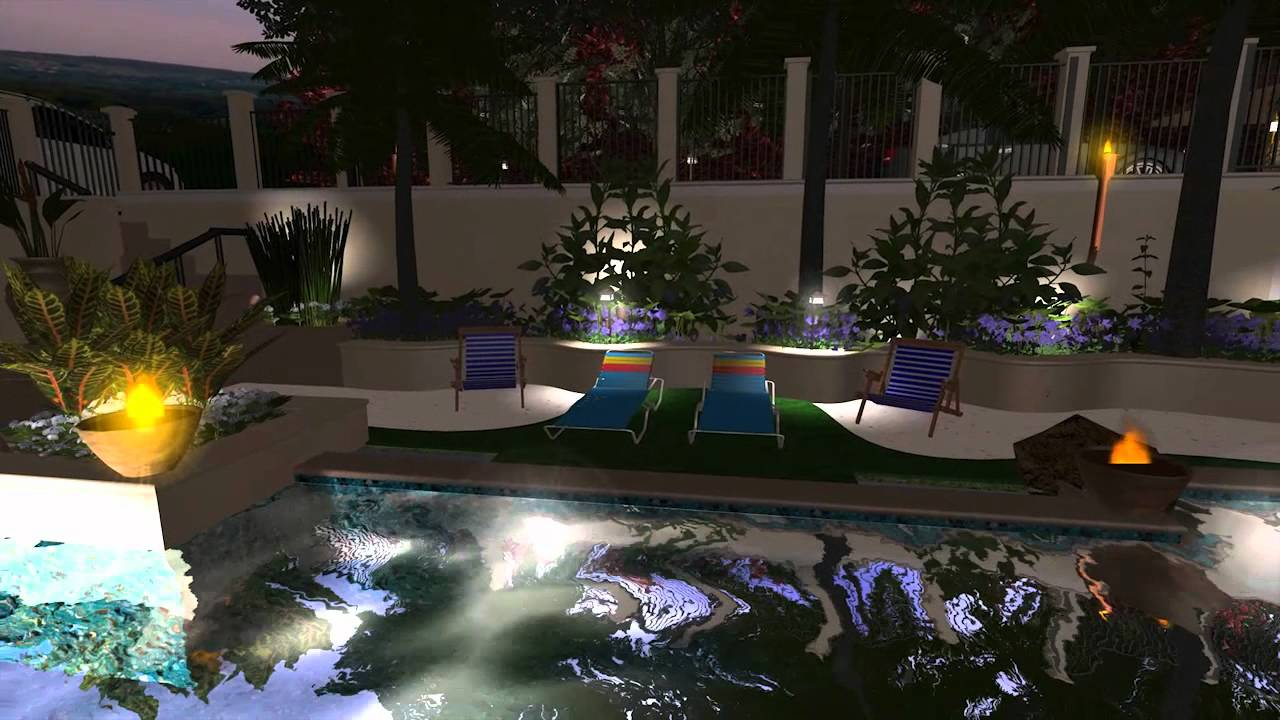 Virtual presentation studio 3d landscape design youtube for Xd garden design