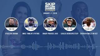 Video UNDISPUTED Audio Podcast (1.17.18) with Skip Bayless, Shannon Sharpe, Joy Taylor | UNDISPUTED download MP3, 3GP, MP4, WEBM, AVI, FLV Januari 2018