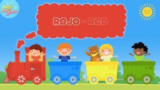Learn the Colors in Spanish | Colors Song for Kids - Canción de Los Colores