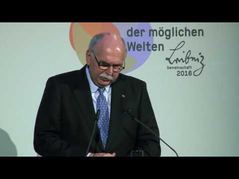Jahrestagung der Leibniz-Gemeinschaft 2016 - Matthias Kleiner