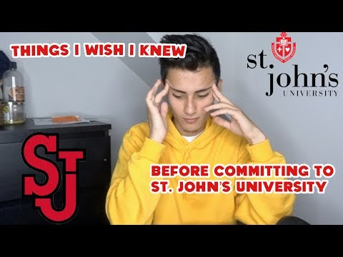 10 things to know before committing to St. Johns University...
