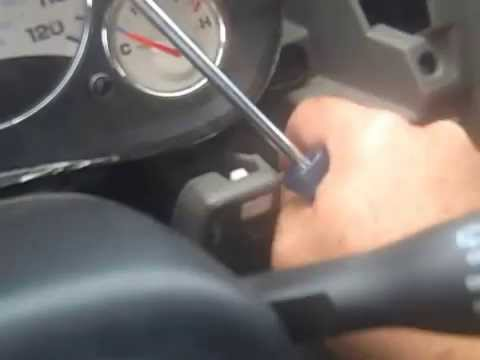 Replacing Light Bulbs For The Instrument Cluster 2003 Jeep Liberty