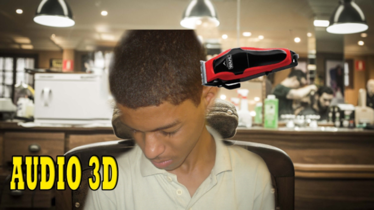 barbeiro virtual 3d