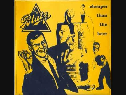 "blatz - cheaper than beer 7"""