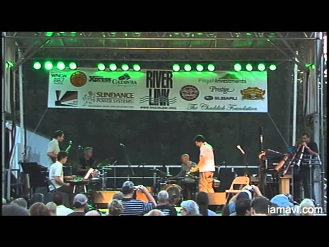 RiverMusic Series with The Billy Sea and The Jeff Sipe Global Percussion Ensemble 7-11-2014 part 2