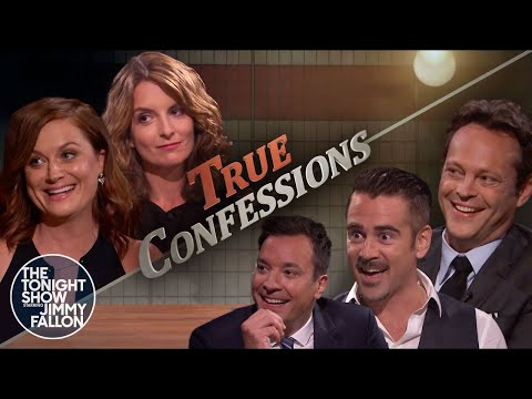 Tonight Show True Confessions: Colin Farrell & Vince Vaughn, Tina Fey & Amy Poehler
