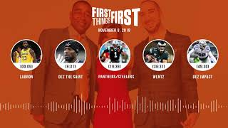 First Things First audio podcast(11.8.18) Cris Carter, Nick Wright, Jenna Wolfe | FIRST THINGS FIRST