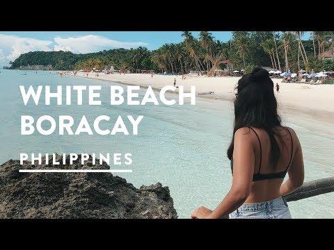 WHITE SAND BEACH BORACAY STATION 1 | Philippines Travel Vlog 094, 2017 | Digital Nomad
