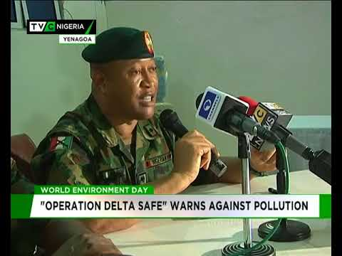 "World Environment Day: ""Operation Delta Safe"" warns against pollution"