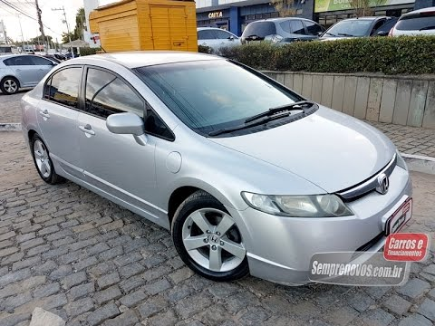 Honda Civic 2008 Flex. Vendo, Troco E Financio!