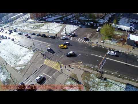 Авария на перекрестке Новый бульвар - Спортивная 12.05.2017 Долгопрудный Darnet