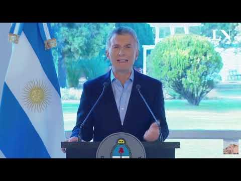 Mauricio Macri pidió disculpas y anunció nuevas medidas económicas