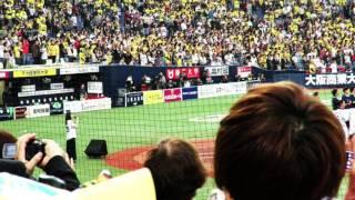 「阪神-ヤクルト」(4日、京セラドーム大阪) 阪神の本拠地開幕試合の...