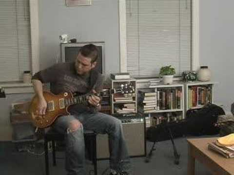 Out of Phase Tone Les Paul Deluxe Reverb: Peter Green Licks - YouTube