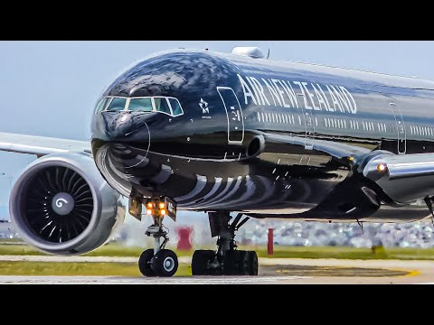 25 HEAVY TAKEOFFS from CLOSE UP | A380 B747 A340 B777 B787 | Melbourne Airport Plane Spotting