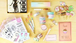 Planner Collective Haul! (Washi, Pens, Stamps, Paper clips)