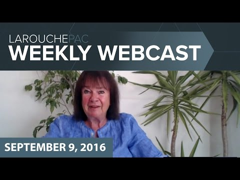 LaRouchePAC Friday Webcast with Helga Zepp-LaRouche: A New P