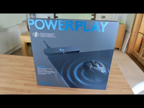 Logitech Gaming PowerPlay Wireless Charging System Mousepad Unboxing & First Look! (G703 & G903)