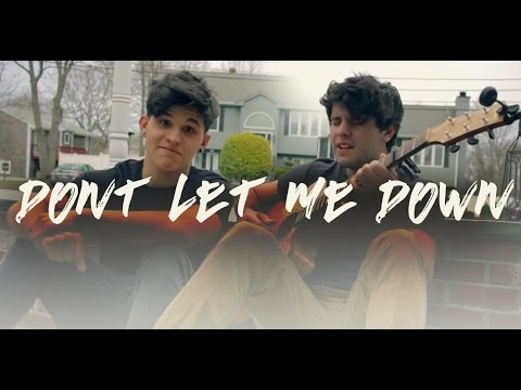 The Chainsmokers - Don't Let Me Down ft. Daya (Tyler & Ryan Cover)