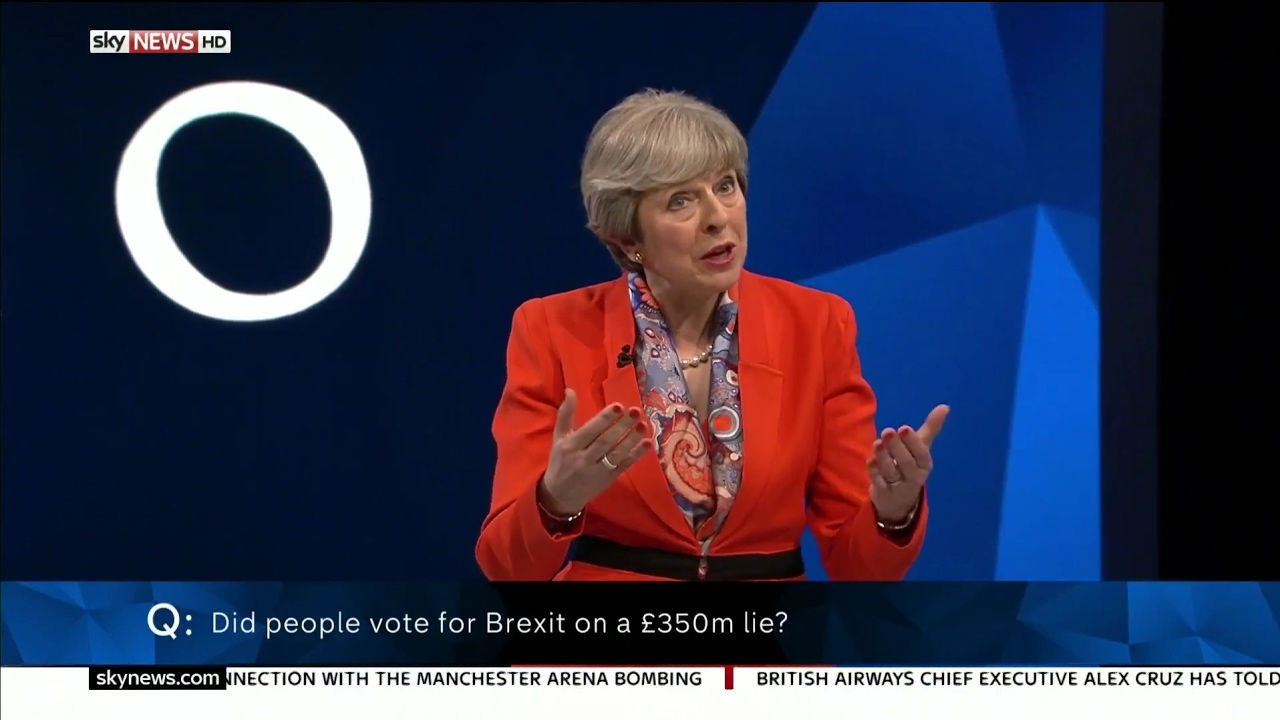 The Battle for Number 10 - Theresa May Answers Audience ...