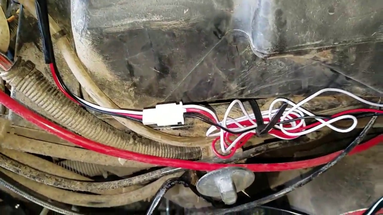 How To Install A Led Light Bar On Atv 4wheeler Youtube Yamaha 80cc Wiring Schematics