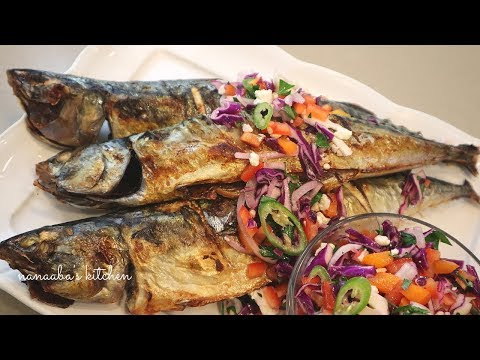 How To Make The Tastiest Oven Grilled  MACKEREL Fish Recipe I How To Cook
