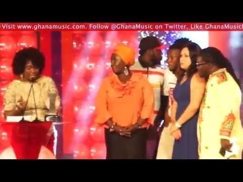 Shatta Wale - Wins Artiste of the Year @ Vodafone Ghana Music Awards '14 | GhanaMusic.com Video