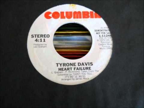 Tyrone Davis-Heart Failure.wmv