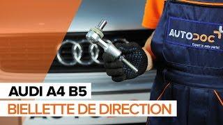Montage Rotule de barre de connexion AUDI A4 (8D2, B5) : vidéo gratuit
