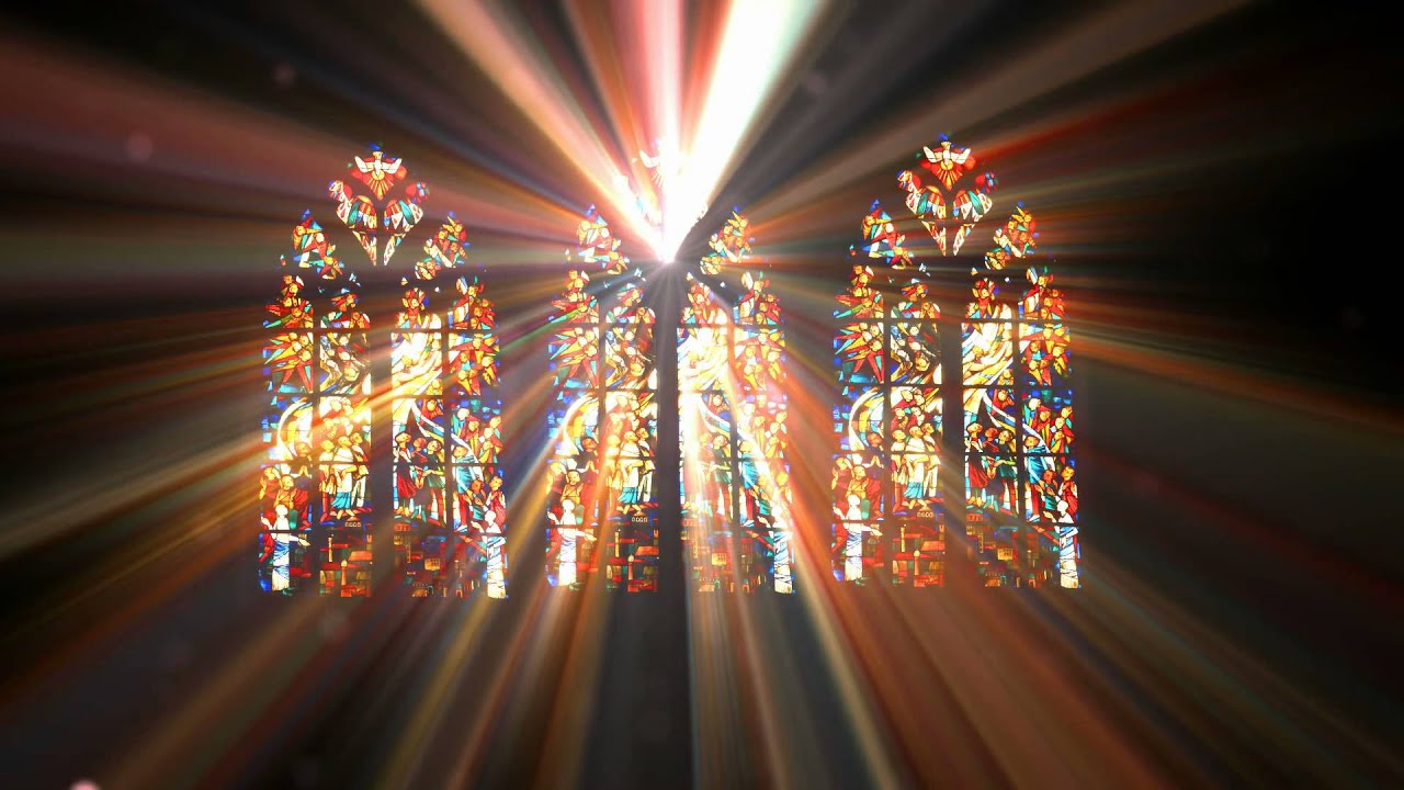 bright stained glass light zylf44zzs D - YouTube