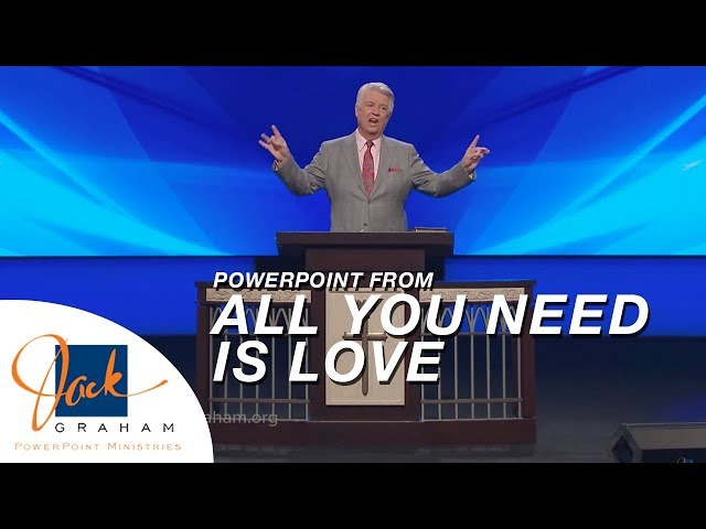 PowerPoint from: All You Need is Love