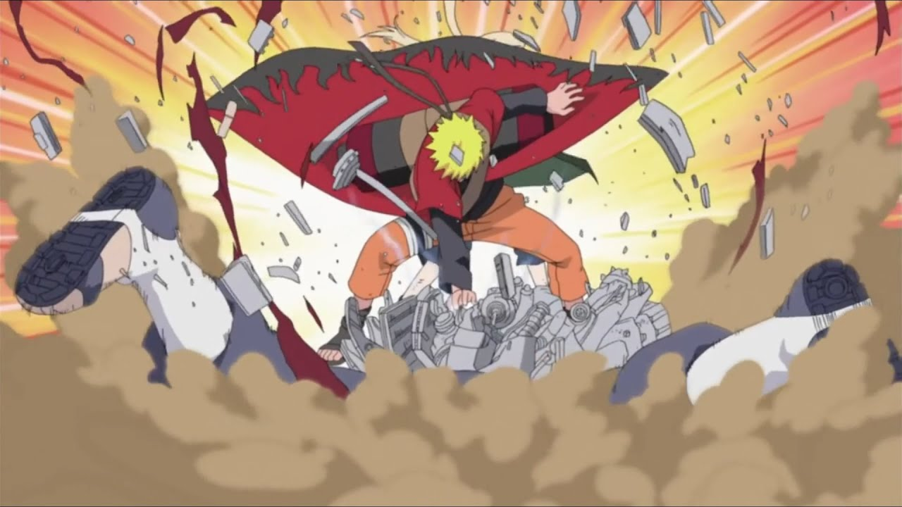 Download Naruto turned to Konoha fighting against the Pain, performances of Naruto part 1 English Dub