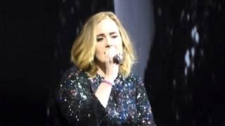 Adele - Million Years Ago - Live Glasgow 2016 - 26-03-2016 SSE Hyrdo