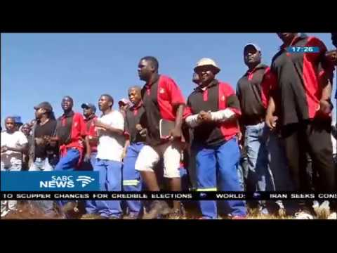 Precision Opencast Mining Services workers down tools