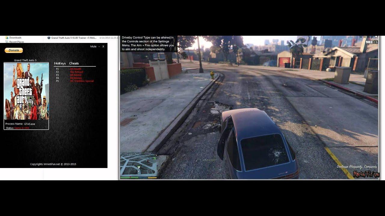 Grand Theft Auto 5 - PC Trainer +5 ohne Steam